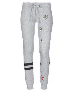 Повседневные брюки LAUREN MOSHI. Цвет: серый