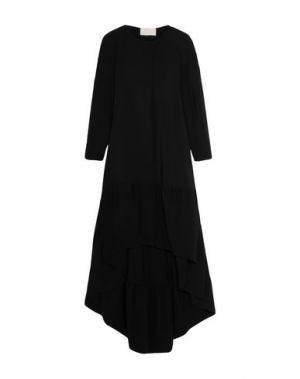 Легкое пальто ANTONIO BERARDI. Цвет: черный