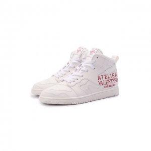 Кожаные кроссовки Atelier Shoes 08 San Gallo Edition Valentino. Цвет: кремовый