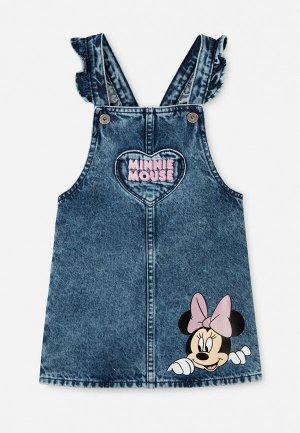 Сарафан Gloria Jeans. Цвет: синий