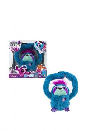 Интерактивный Ленивец 1toy. Цвет: синий
