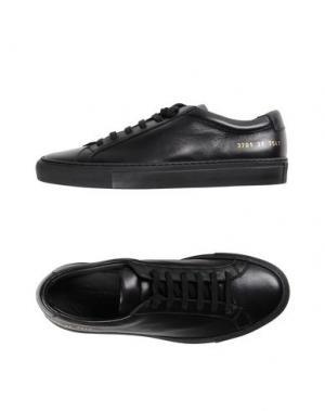 Низкие кеды и кроссовки WOMAN by COMMON PROJECTS. Цвет: черный
