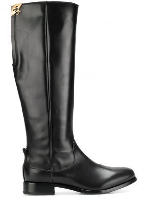 Сапоги высотой до колена Fabi. Цвет: черный