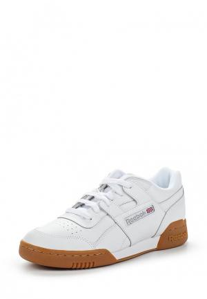 Кеды Reebok Classics WORKOUT PLUS. Цвет: белый