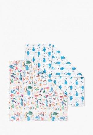 Комплект Сонный Гномик. Цвет: белый