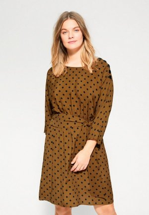 Платье Violeta by Mango - JULIA6. Цвет: коричневый