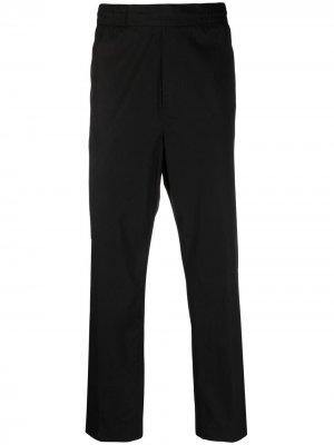 Строгие брюки с эластичным поясом Acne Studios. Цвет: черный