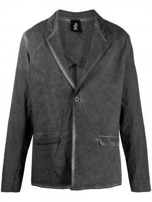 Пиджак с эффектом деграде Thom Krom. Цвет: серый