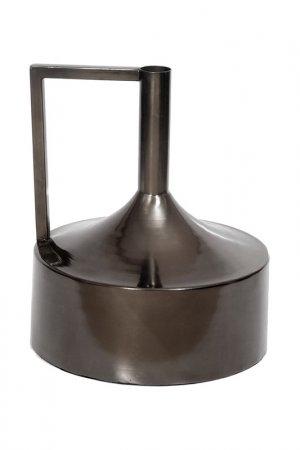 Ваза с узким горлышком UMA. Цвет: темно-серый