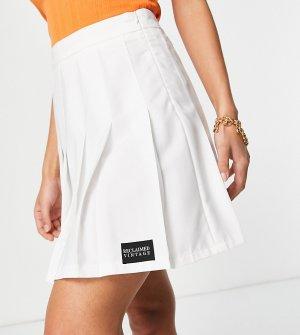 Белая теннисная юбка Inspired-Белый Reclaimed Vintage