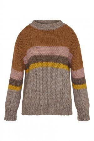 Разноцветный свитер Laisa Gerard Darel. Цвет: multicolor