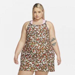 Платье Sportswear (большие размеры) - Оранжевый Nike