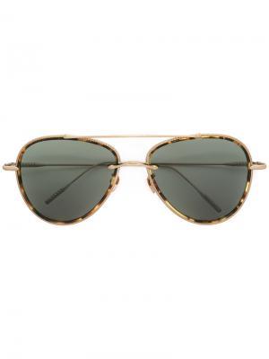 Солнцезащитные очки Coast Drop II Frency & Mercury. Цвет: зелёный