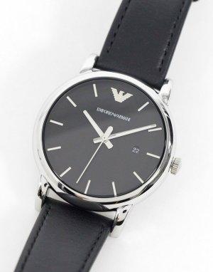 Часы с кожаным ремешком AR1692-Черный цвет Emporio Armani