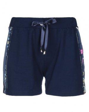 Повседневные шорты EAN 13. Цвет: темно-синий