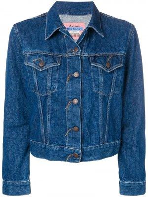Джинсовая куртка 1999 Trash Acne Studios. Цвет: синий