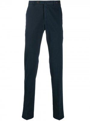 Классические брюки чинос Pt01. Цвет: синий