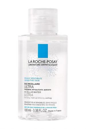 Мицелярная вода, 100 мл La Roche-Posay. Цвет: белый