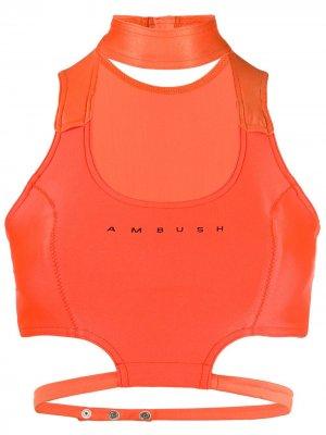 Лиф бикини Waves AMBUSH. Цвет: оранжевый
