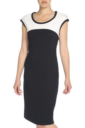Платье UNQ. Цвет: черный, белый