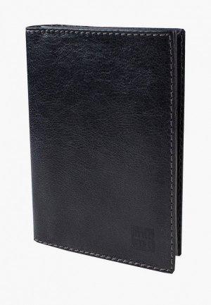 Обложка для паспорта Mumi. Цвет: черный