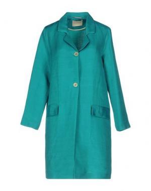 Легкое пальто MOMONÍ. Цвет: цвет морской волны