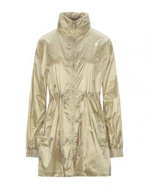 Легкое пальто K-WAY. Цвет: светло-зеленый