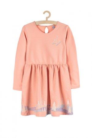 Платье 5.10.15.. Цвет: розовый