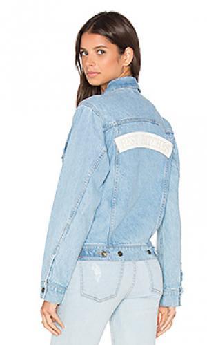 Джинсовая куртка best bitches Understated Leather. Цвет: none