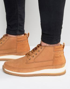 Кожаные ботинки Cryser Boxfresh. Цвет: рыжий