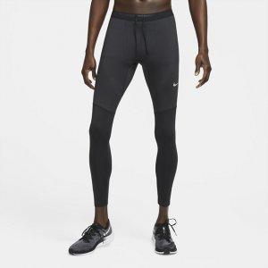 Мужские беговые тайтсы Phenom Elite - Черный Nike