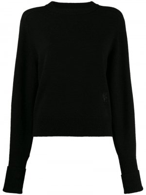 Пуловер с длинными рукавами Chloé. Цвет: черный