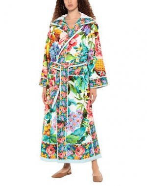 Банный халат DOLCE & GABBANA BEACHWEAR. Цвет: бирюзовый
