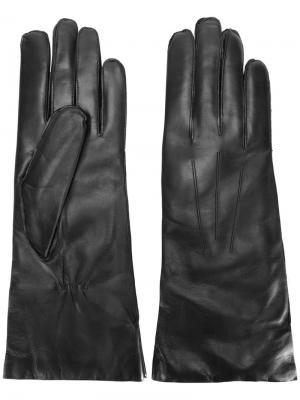 Классические перчатки Ann Demeulemeester. Цвет: чёрный