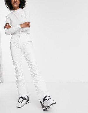Белые горнолыжные брюки Creek-Белый Roxy