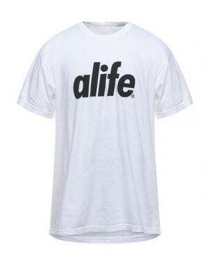 Футболка ALIFE. Цвет: белый