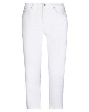 Джинсовые брюки-капри TOMMY HILFIGER. Цвет: белый