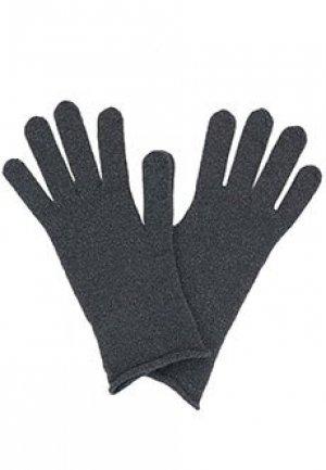 Перчатки FABIANA FILIPPI. Цвет: серый
