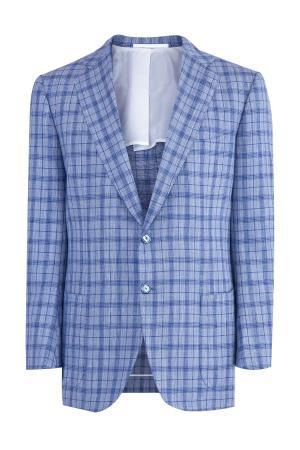 Пиджак CESARE ATTOLINI. Цвет: голубой