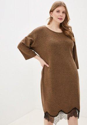 Платье домашнее Hays. Цвет: коричневый