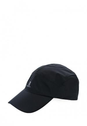 Бейсболка Salomon CAP WATERPROOF. Цвет: черный
