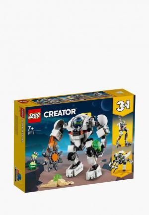 Конструктор Minecraft LEGO 31115, Космический робот для горных работ, Space Mining Mech, 3 в 1. Цвет: разноцветный