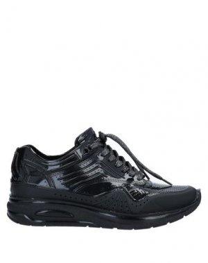 Низкие кеды и кроссовки AIRDP by ISHU+. Цвет: черный