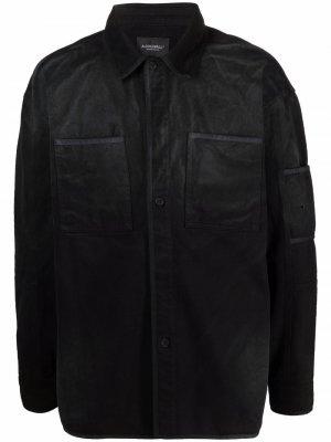 Куртка-рубашка с эффектом деграде A-COLD-WALL*. Цвет: черный