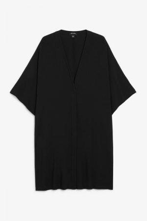 Пляжное платье миди Monki. Цвет: черный