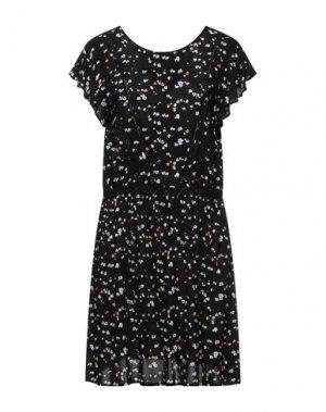 Короткое платье ICHI. Цвет: черный