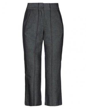 Джинсовые брюки-капри HACHE. Цвет: синий