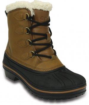 Ботинки женские CROCS Womens AllCast II Boot Wheat (Бежевый) арт. 203430. Цвет: бежевый