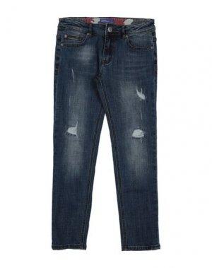 Джинсовые брюки GAUDÌ. Цвет: синий