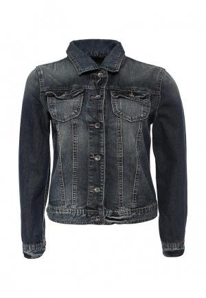 Куртка джинсовая Sisley SI007EWIFM38. Цвет: серый